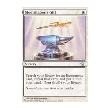 Amazon.com: Magic: the Gathering - Steelshaper's Gift - Fifth Dawn ...