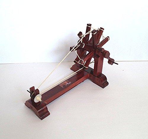 N R Creations Mini Wooden Charkha Gandhiji's Charkha for