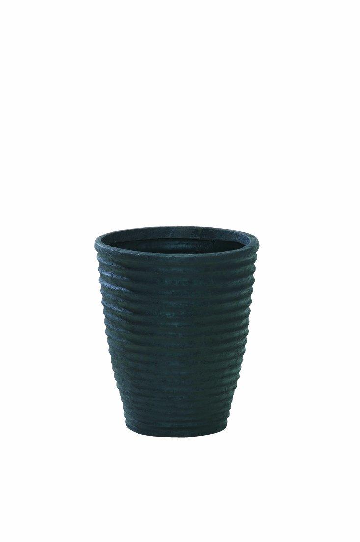 大和プラスチック ポット ナミツボ 底面穴あき加工済み φ450×H520 52型 ブラック B006OIQWS6 52型 ブラック ブラック 52型