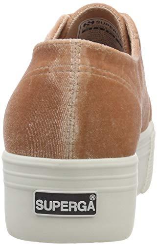 Pink Sneaker Pink Dusty Coral Superga 918 Donna velvetchenillew 2790 wgnIBA