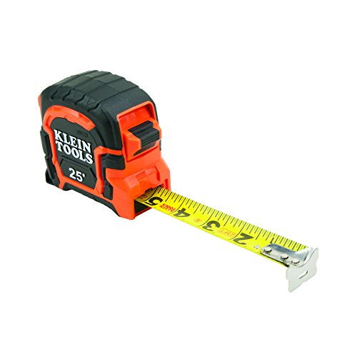 [Klein Tools 86125 Single Hook Non-Magnetic Tape Measure, 25-Foot] (Klein Hooks)