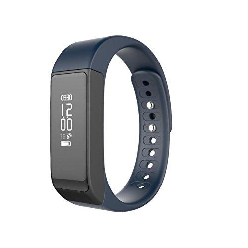 CSYY ® Fitness tracker bracelet intelligent suivi d'activité compteur calorique podomètre sans fil compteur de sommeil de sport téléphone Android iOS