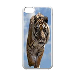 Powerful tiger Pattern Hard Case Cover Back Skin Protector for For Iphone Case 5C color6