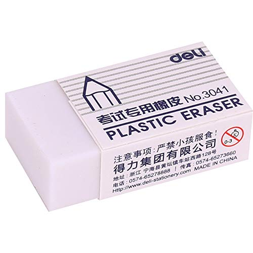 Eraser - Pencil Eraser 45 Pieces Rubber Eraser for Artist Student Stationery Sketch Drawing Cleaner Deli 3041 - by Kamin's - 1 PCs by Kamin's (Image #4)