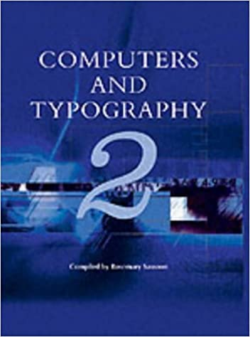 computers and typography 2 sassoon rosemary