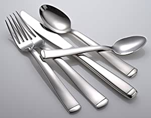 Liberty Tabletop Lexington 45-piece 18/10 Flatware Set Service for 8, Includes Serving Pieces