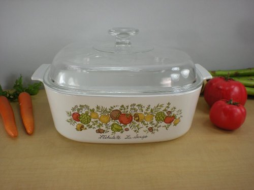 Corning Corelle Spice (Spice of Life Vintage Corningware 4 Qt. Dutch Oven)