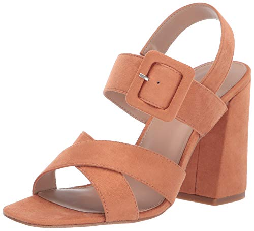 BCBGeneration Women's Tiffany Dress Sandal Heeled, Toasted Apricot, 9.5 M US