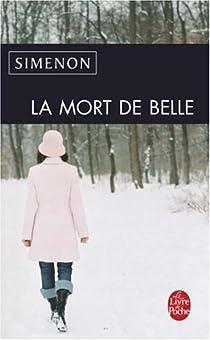 La Mort de Belle par Simenon