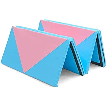 Amazon.com : Giantex 4'x10'x2 Gymnastics Mat Thick Folding