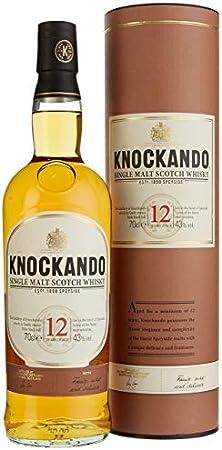 Knockando Whisky escocés puro de malta de Speyside - 0.7 L
