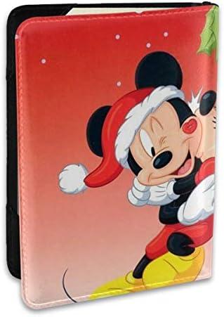 ミッキーミニー パスポートケース 6.5インチ 防水 軽量 パスポートバッグ 旅行 薄型 パスポートホルダー 航空券対応 パスポートポーチ 男女兼用 PU カードケース スキミング防止 かわいい おしゃれ