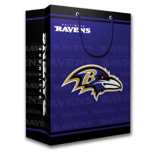 Ravens Baltimore Paper (NFL Baltimore Ravens Gift Bag, Medium)