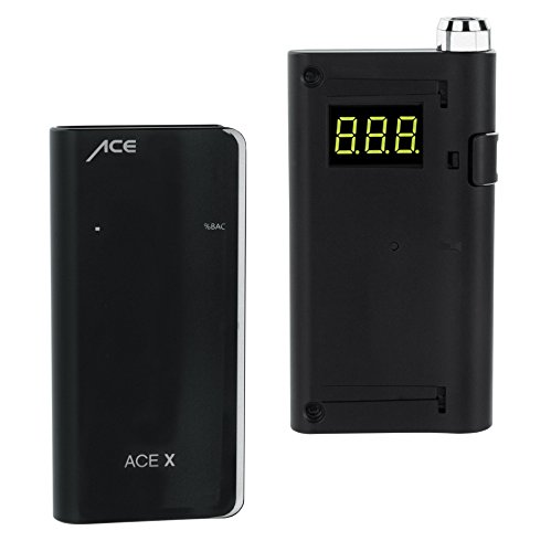 ACE X Portable Breathalyzer Professional Grade Fuel Cell with Digital Display and 5 Mouthpieces by ACE Instruments (Image #5)