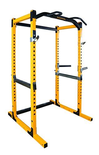 (Powertec Fitness Work Bench Power Rack, Yellow)