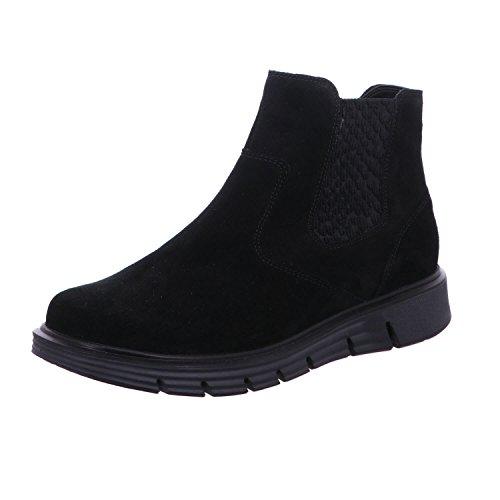 Waldläufer Women's 919803/130 001 Boots black schwarz Weite H Schwarz Weite H TiOBz