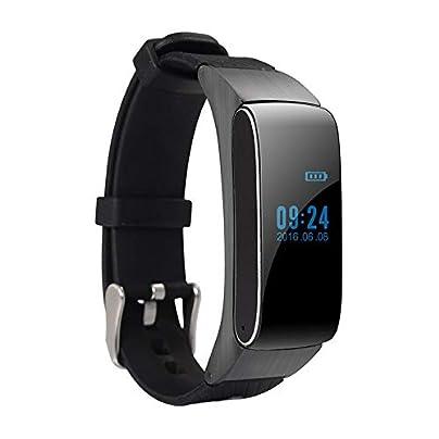 Lynn025Keats STAR Multifunctional 120mAh Battery Smart Bracelet Heart Rate Blood Pressure Call Steps Waterproof Wristbands Estimated Price £34.52 -