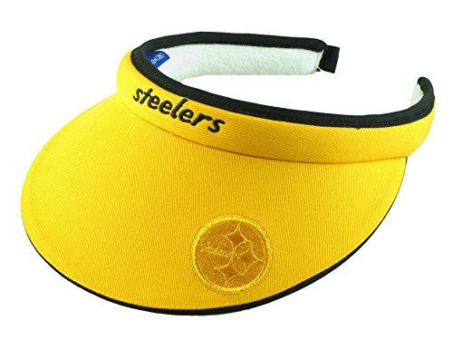 Cheer Visor (Pittsburgh Steelers NFL Women's Tension Visor (Yellow))