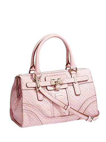 f9af7286488f GUESS Women s La Vida Logo Small Satchel Bag Handbag Tote