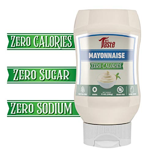 Fat Free Mayo, Zero Calories, Zero Sodium, Zero Sugar, High Fiber, Keto Friendly, Paleo Friendly, Condiments and Sauces (Mayo)
