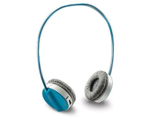5d293ad99bf Auawak Rapoo H6020 Bluetooth Stereo Wireless Headset With Built-in  Microphone for ipad iphone and Laptops Desktops PC - Blue - Buy Online in  UAE.