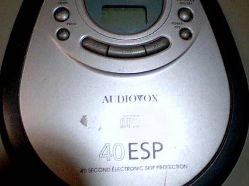 Venturer Electronics, Inc. Venturer Audiovox Model:dm8903-40 Portable Cd Player Compact Disc Digital Audio 40 ESP 40 Second electronic Skip Protection Cd Player (Grey/black Color Version) by Venturer Electronics, Inc. Venturer Audiovox (Image #6)