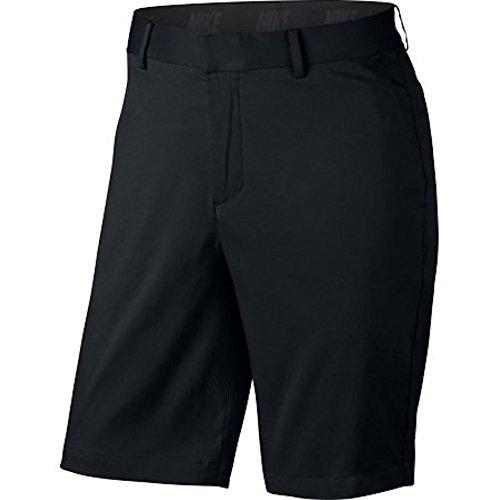 Nike Men's Flat Front Stretch Golf Shorts Black 897914 010 (34) Best Golf Shorts