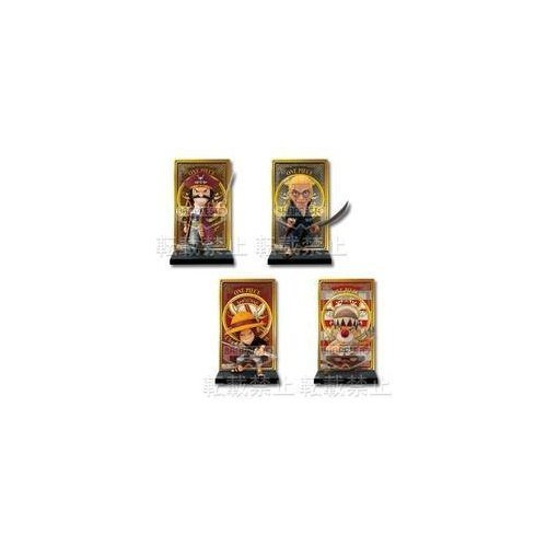 All four lottery one piece  Change of Generation  F Award Roger Pirates card stand figure most (japan import)