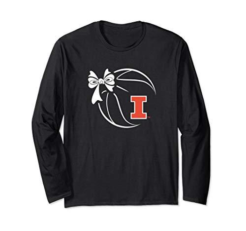 (Illinois Fighting Illini Basketball Ribbon T-Shirt - Apparel)