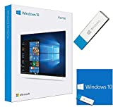 Windows 10 Home 64 Bit / 32 Bit - Windows 10 Home USB Flash Drive - Windows 10 Home Software - English, for 1 PC