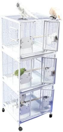 A E Cage 24 x22 Triple Stack Metal
