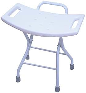 Amazon Com Folding Shower Seat Stool Portable Assist