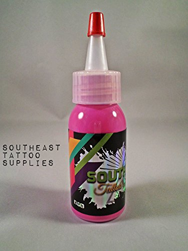 Pretty Pus Pink Professional Tattoo Ink (1oz) by Southeast Tattoo Supply
