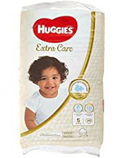 Huggies Extra Care Diapers Size 5, Jumbo Pack, 12-22 kg 60 Diapers