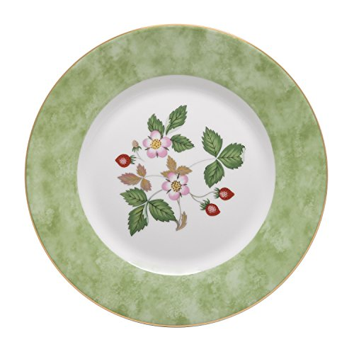 Wedgwood Wild Strawberry 8-Inch Accent Salad Plate (Wild Bone Strawberry)