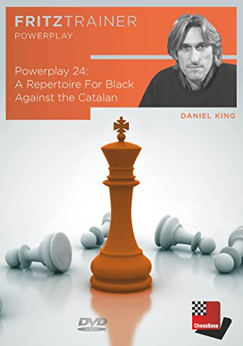 power-play-a-repertoire-for-black-against-the-catalan-daniel-king-volume-24-chess-software