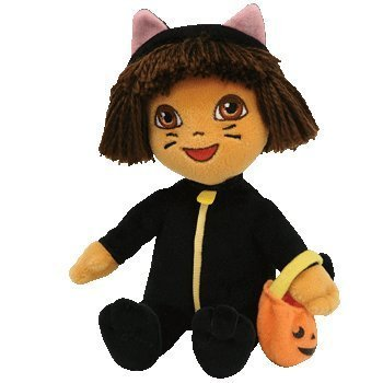 TY Beanie Baby - DORA the Explorer (Cat Costume) [Toy] by Ty -