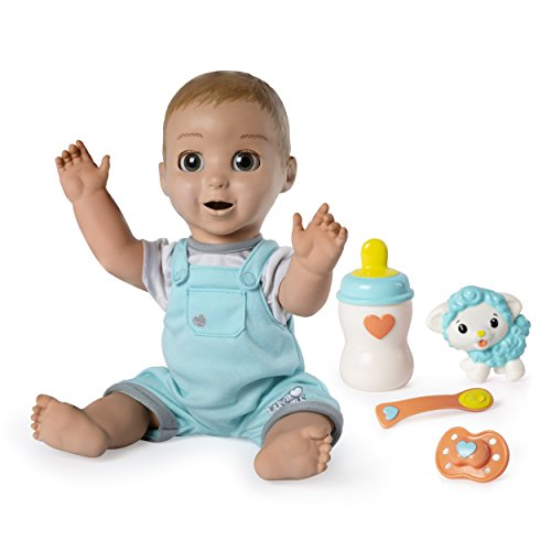 Luvabeau, Responsive Baby Doll with Real Expressions and Movement, for Ages 4 and Up