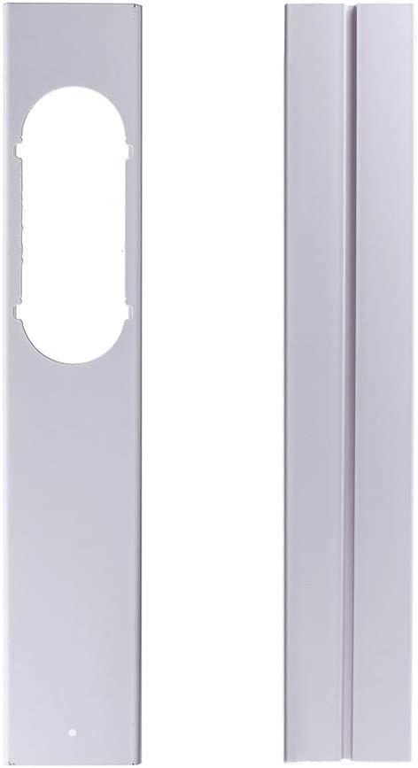Herewegoo - Kit de Manguera de Escape para Ventana Ajustable para Aire Acondicionado portátil, 2 PC