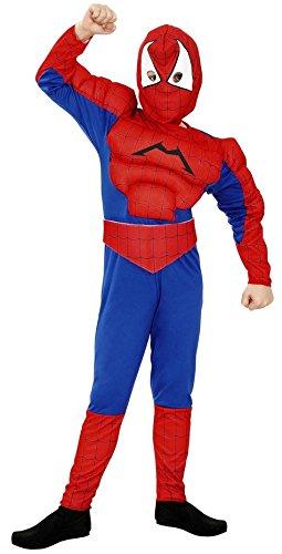 Boys Toys Disfraz de Spiderman Musculoso 3-4 años: Amazon.es ...