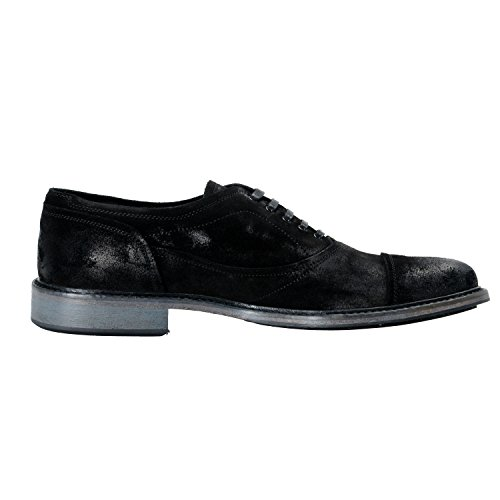 Belstaff Mens Abbey Zwart Suède Casual Oxfords Schoenen Ons 8 It 41