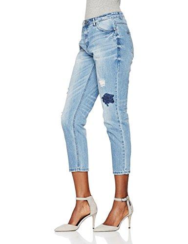 Denim Jeans Bf Medium Dnm Donna Blue Bj Onltonni ONLY Blu Emb wFqUvWI
