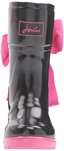 Welly et de Noir Bow Black Bottines Pluie Bottes Fille Joules AqU7BnH5