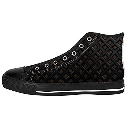 Dalliy Metal Mens Canvas shoes Schuhe Lace-up High-top Sneakers Segeltuchschuhe Leinwand-Schuh-Turnschuhe E