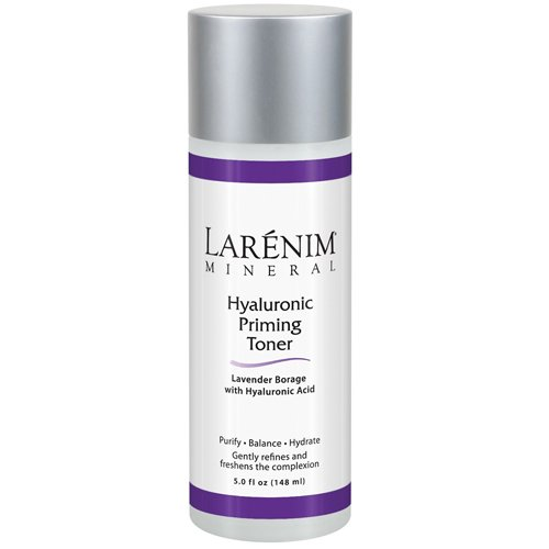 (Larenim Hyaluronic Priming Toner Liquid, White, Lavender, 5 Fluid)