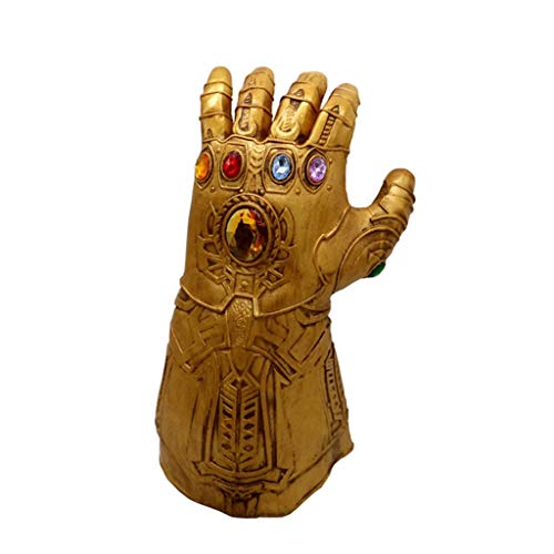 JGBHPNYX Masque Iron Man Halloween Festival Des FantôMes De PâQues Iron Man Gants Masque En Latex]()