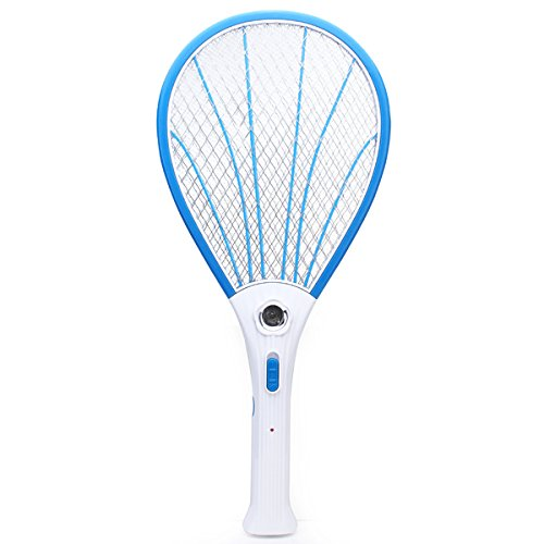 free-shipping-rechargeable-electric-mosquito-fly-pest-killer-zapper-racket-with-led-mosquitos-electr