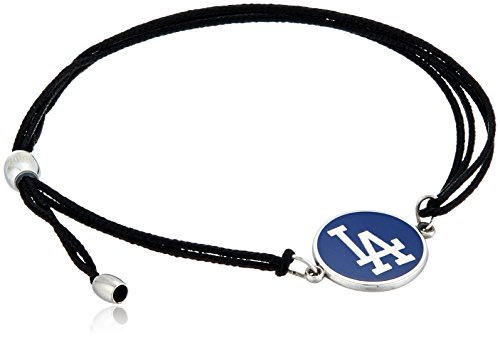 Alex and Ani Kindred Cord Los Angeles Dodgers Sterling Silver Bangle Bracelet