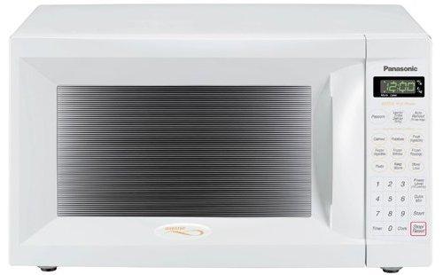 Panasonic NN-S505WF Mid-Size 1.1-Cubic-Foot 1200-Watt Microwave Oven, White