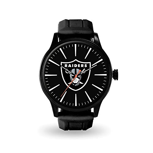 Q Gold Gifts Watches NFL Oakland Raiders Cheer Watch by Rico Industries